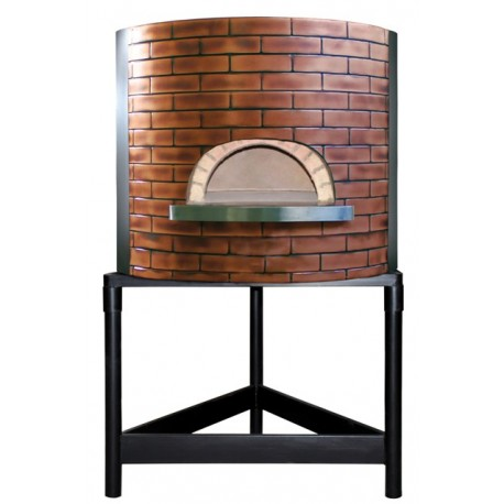 Four à pizza professionnel structure béton diamètre intérieur 920mm