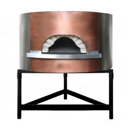 Four à pizza professionnel structure béton entièrement isoler et prêt à l'emploi du diamètre intérieur Ø110cm au Ø184cm