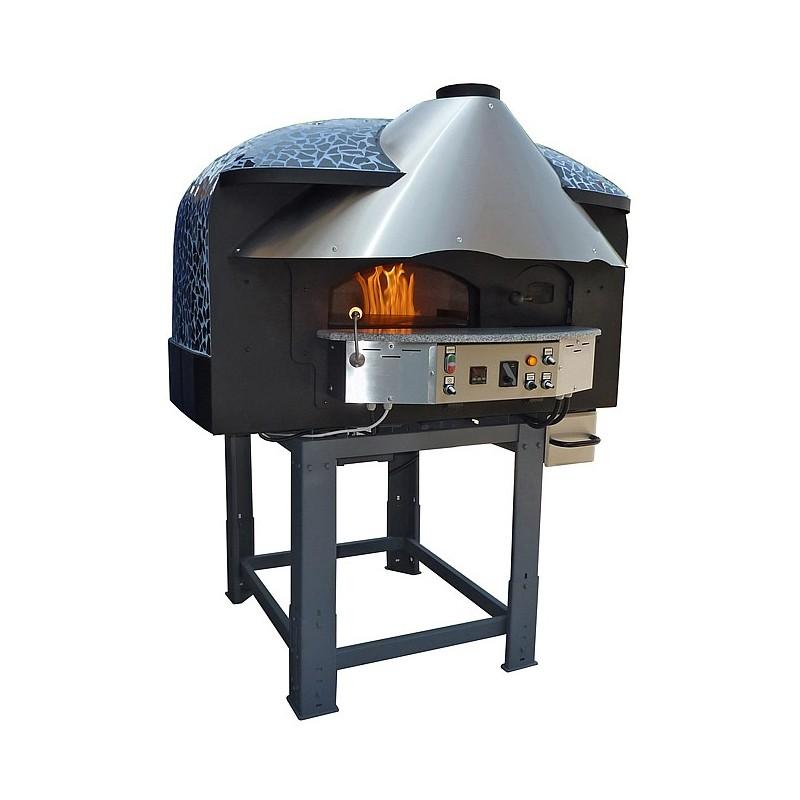 four pizza rotatif 5 6 pizzas 30cm mix bois gaz. Black Bedroom Furniture Sets. Home Design Ideas