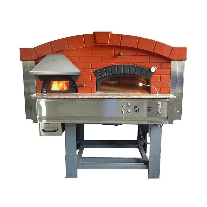 four pizza rotatif 9 pizzas 30cm mix bois gaz. Black Bedroom Furniture Sets. Home Design Ideas