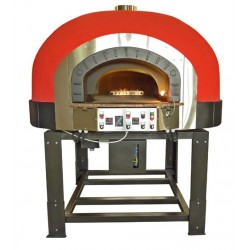 FOUR A PIZZA AU GAZ A SOLE ROTATIVE 5 PIZZAS