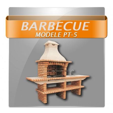 Barbecues en brique multifonction avec évier et robinet d'eau