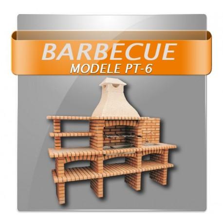 Barbecues avec étagères double évier et robinet.