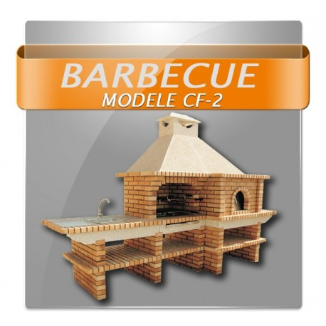 Barbecues avec four a bois traditionnel diamètre 90cm