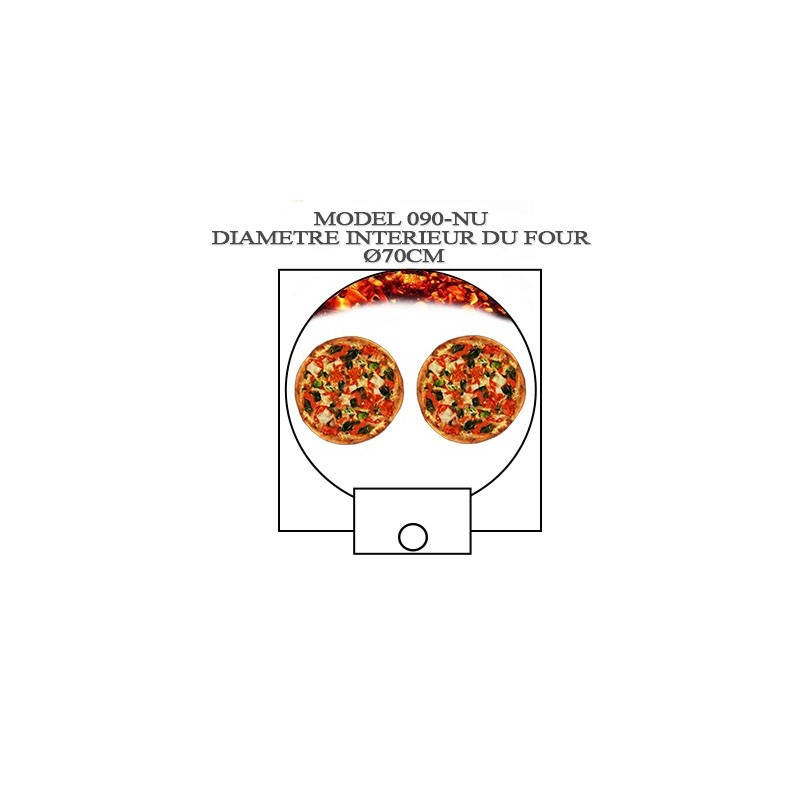 Fours pain pizza professionel bois - Four a pain et pizza exterieur ...