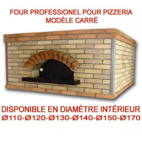 four professionnel carr au bois ou gaz sp cial pizzeria. Black Bedroom Furniture Sets. Home Design Ideas
