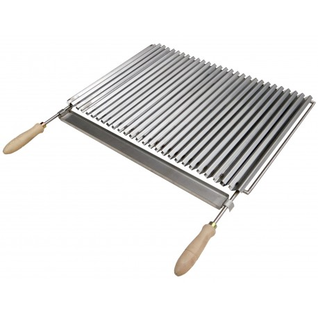 Grille barbecue inox type plancha